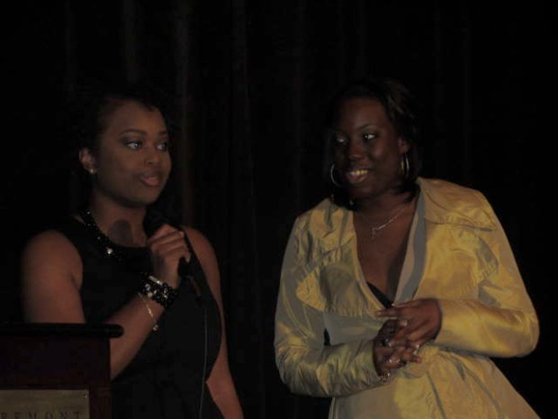 Mz Mahogany Chic CEO Nakia Heard and Assistant to the CEO Naté Bell