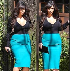 Kim color blocking