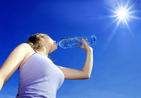 Drink plenty of water! Image from 50 Report