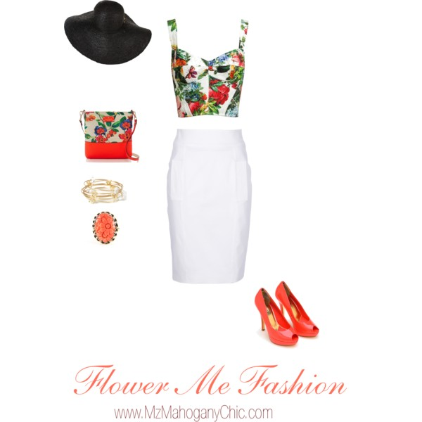 Floral Fashion Set