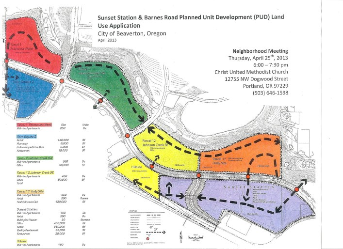 Sunset Station and Barnes Road Planned Unit Development (PUD) Land Use Application