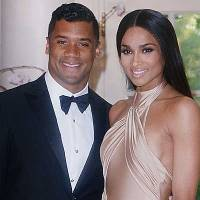 CIARA Arm in Arm With New Beau RUSSELL WILSON At Tonight's White House State Dinner
