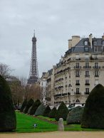La Tour Eiffel from the Musee Rodin