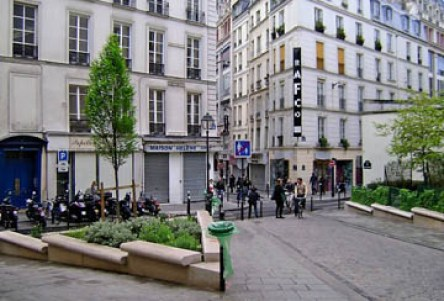 Parisian square, 2nd Arrondissement