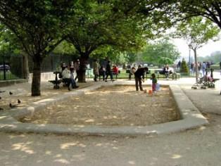 Park alongside Notre Dame