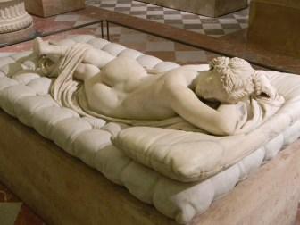 Hermaphroditos Asleep, artist unknown