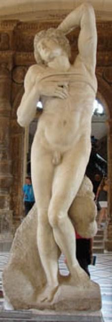 L'Esclave Mourant, by Michelangelo