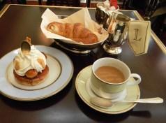 Breakfast at Laduree
