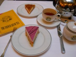 Pastries and tea at Mariage Freres
