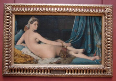 Une Odalisque, by Jean-Auguste-Dominique Ingres
