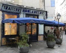 boulangerie on Rue des Rosiers