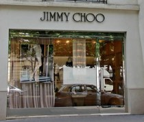 Jimmy Choo on Avenue Montaigne