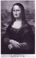 Mona Lisa LHOOQ