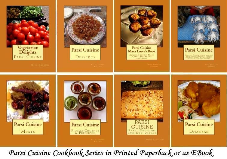 The Parsi Cuisine Cookbook  Series