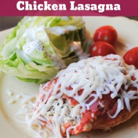 Low Carb Chicken Lasagna Crock Pot Recipe