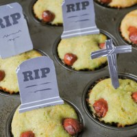 Zombie Muffins + Free Printable & Coupon
