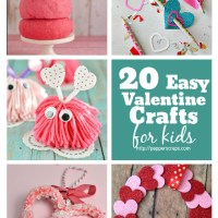 20 Easy Valentine's Day Crafts for Kids