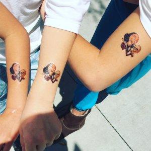 kids shakespeare tattoos