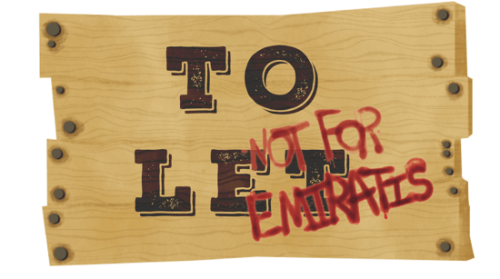 To Let – Not For Emiratis