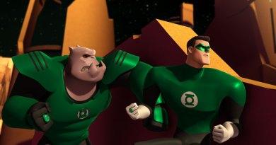 Killowog and Hal Jordan