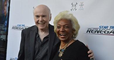 Star Trek Renegades Red Carpet - Walter Koenig & Nichelle Nichols