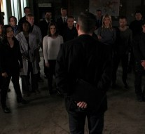 """MARVEL'S AGENTS OF S.H.I.E.L.D. - """"Many Heads, One Tale"""" - The S.H.I.E.L.D. team discovers dangerous truths about the ATCU, and Ward's plans to destroy S.H.I.E.L.D. take a surprising twist, on """"Marvel's Agents of S.H.I.E.L.D.,"""" TUESDAY, NOVEMBER 17 (9:00-10:00 p.m., ET) on the ABC Television Network. (ABC/John Fleenor) MING-NA WEN, ELIZABETH HENSTRIDGE, IAIN DE CAESTECKER, ADRIANNE PALICKI, NICK BLOOD"""