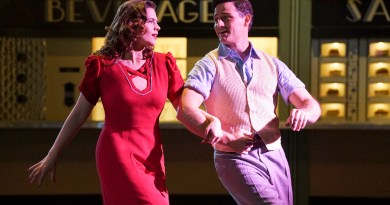 """MARVEL'S AGENT CARTER - """"A Little Song and Dance"""" - Peggy desperately tries to save Dr. Wilkes with a dangerous plan to stop Whitney Frost.  But Thompson makes a surprising move that could destroy them all, on """"Marvel's Agent Carter,"""" TUESDAY, FEBRUARY 23 (10:00-11:00 p.m. EST) on the ABC Television Network. (ABC/Byron Cohen) HAYLEY ATWELL, ENVER GJOKAJ"""