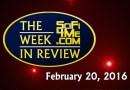 Sci Fi/Fantasy/Horror News — WEEK IN REVIEW 20 Feb 2016
