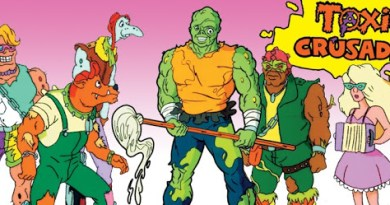Toxie, a role model for the ages. Ages 6-10.