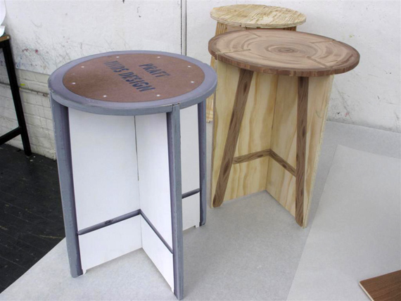 design-school- flat-pack stools