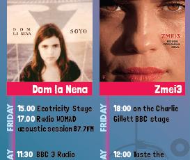 Dom la Nena & Zmei3 at Womad UK