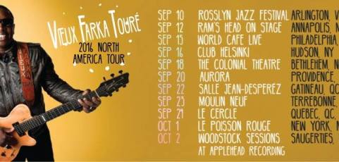 View Faka Touré to announce North America Fall Tour