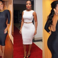 Top 10 Nigerian and Ghanaian actresses with killer curves & butts (+Photos)