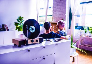 Floating Record: When Modern Design Meets Old School Vinyls [Video]