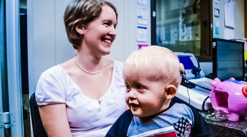 Implant Helps Baby Hear Mother for the First Time