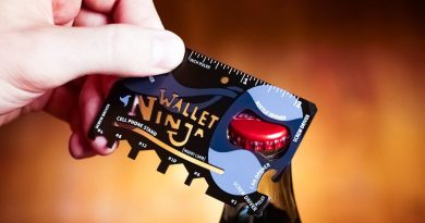 Wallet Ninja: Credit Card Size Multi-Tool with Style