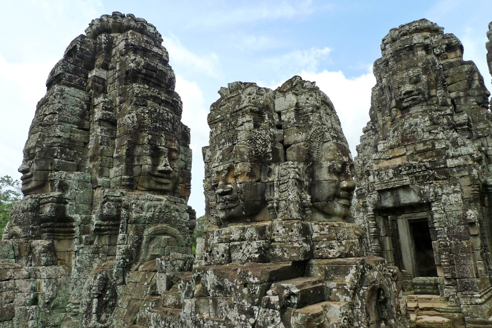 """A temple called Bayonne, Angkor Thom, the Angkor complex, Siem Reap, Cambodia"" by David Sim - originally posted to Flickr as A temple called Bayonne, Angkor Thom, the Angkor complex, Siem Reap, Cambodia. Licensed under CC BY 2.0 via Commons - https://commons.wikimedia.org/wiki/File:A_temple_called_Bayonne,_Angkor_Thom,_the_Angkor_complex,_Siem_Reap,_Cambodia.jpg#/media/File:A_temple_called_Bayonne,_Angkor_Thom,_the_Angkor_complex,_Siem_Reap,_Cambodia.jpg"