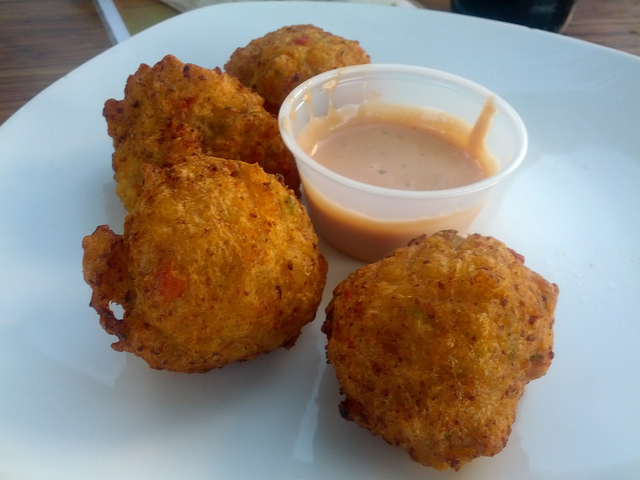 Conch Fritters (Photo: Flickr choking sun)