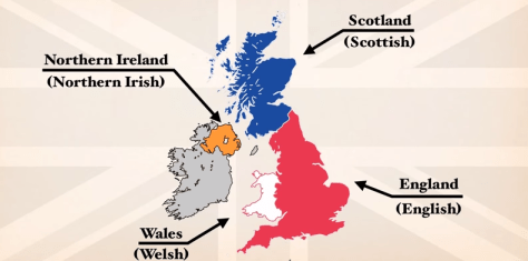 Difference between the United Kingdom, Great Britain and England Explained