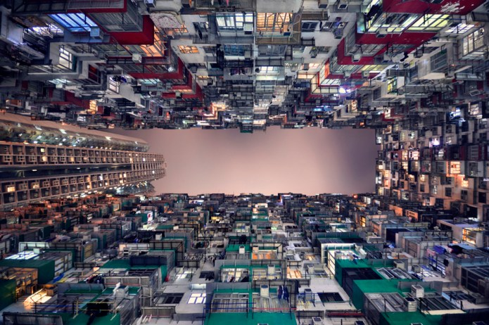 Photographer Romain Jacquet-Lagrèze captures Hong Kong's soaring heights