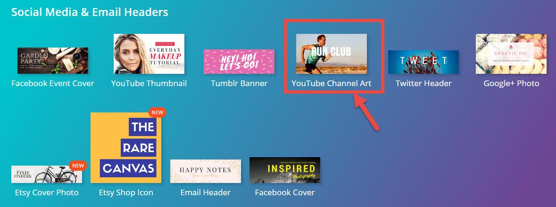 how to create channel art - Pinarkubkireklamowe