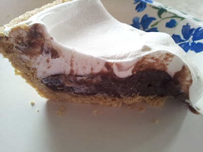 Slice of COOL WHIP Chocolate Pudding Pie