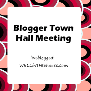 Blogger Town Hall Meeting