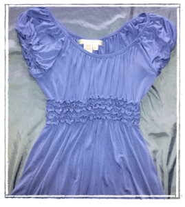 Blue Tunic Top