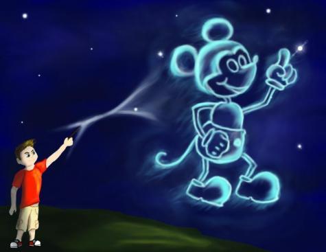Mickey Mouse Patronus by Jennifer Williams