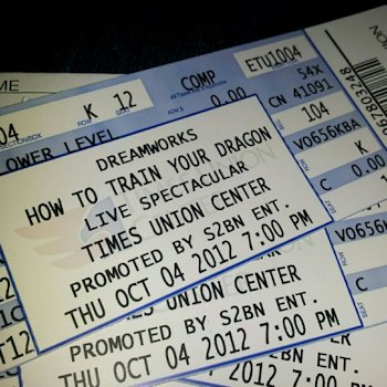 How to Train Your Dragon Tickets