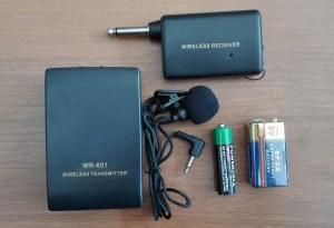 Безжичен Микрофон Брошка WR-601