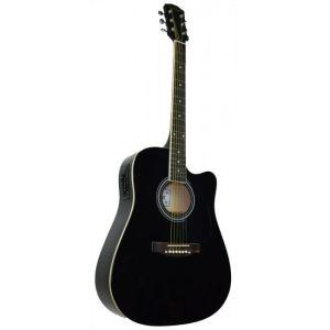 Електро-акустична китара SELNER AFQ4EQ BK