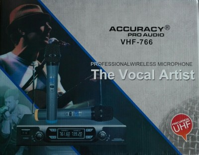 Безжичен микрофон Accuracy VHF-766