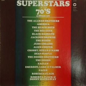 Грамофонна плоча Superstars Of The 70's